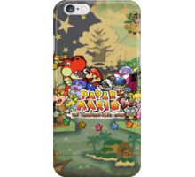 Paper Mario: The Thousand Year Door iPhone Case/Skin