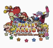 Paper Mario: The Thousand Year Door One Piece - Long Sleeve