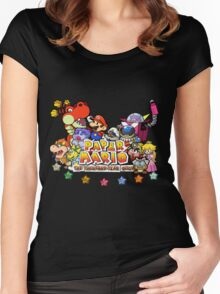 Paper Mario: The Thousand Year Door Women's Fitted Scoop T-Shirt