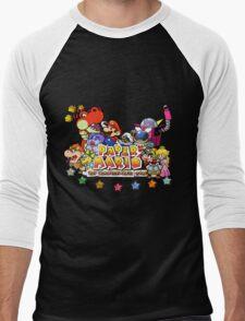 Paper Mario: The Thousand Year Door Men's Baseball ¾ T-Shirt