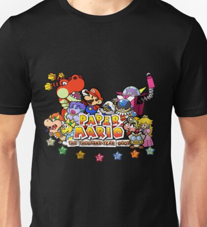 Paper Mario: The Thousand Year Door Unisex T-Shirt
