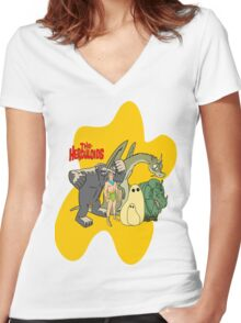 Classic Cartoons The Herculoids-  T-Shirt, Mugs, Bag and more Women's Fitted V-Neck T-Shirt