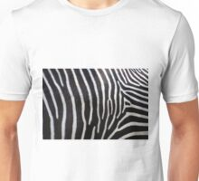 Zebra Patterns in Black and White.... Unisex T-Shirt