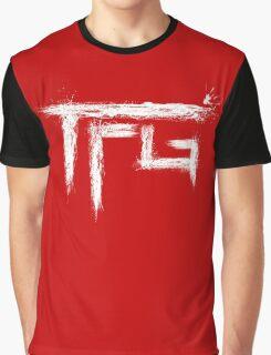TFG brush white Graphic T-Shirt