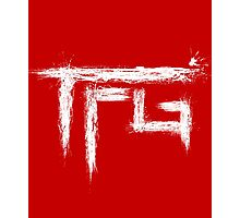 TFG brush white Photographic Print