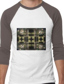 Geometric 3 Men's Baseball ¾ T-Shirt