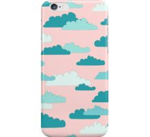Cloudy Sky Turquoise iPhone Case/Skin