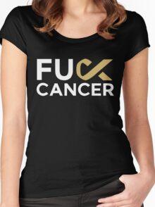 Fuck Cancer - Martin Garrix Women's Fitted Scoop T-Shirt