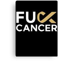 Fuck Cancer - Martin Garrix Canvas Print