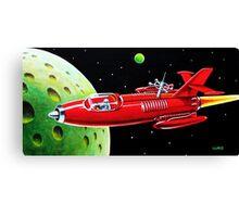 X-300 SPACE ROCKET Canvas Print
