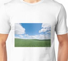 Rolling Wheatfields in the Palouse Unisex T-Shirt