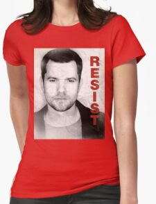 Peter - RESIST Womens Fitted T-Shirt