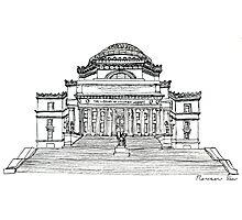 Low Library, Columbia University Photographic Print