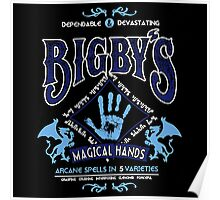 Bigby's Magical Hands Poster