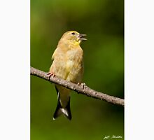 American Goldfinch Singing Unisex T-Shirt