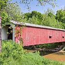 Cades Mill Covered Bridge by Kenneth Keifer