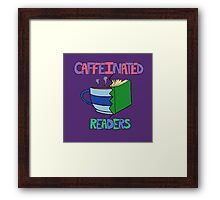 Caffeinated Readers Framed Print