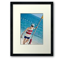 rap monster Framed Print