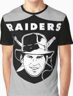 Raiders of the Lost Football Graphic T-Shirt