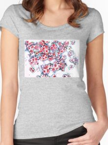 Pink Daisies Women's Fitted Scoop T-Shirt