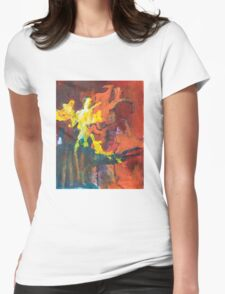 Fireworks II Womens Fitted T-Shirt