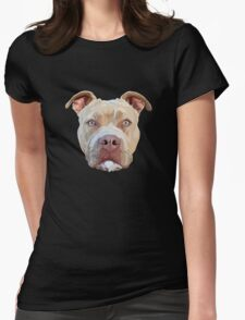 Pitbull Dog Womens T-Shirt
