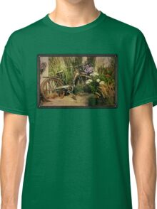 An Old Bicycle ~ Move It or Use It? Classic T-Shirt