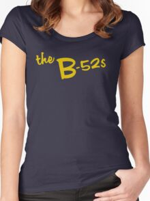 The B - 52's Women's Fitted Scoop T-Shirt