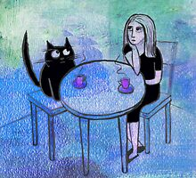 coffee blues by Marianna Tankelevich
