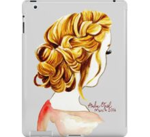 Soft Watercolor Painting iPad Case/Skin