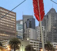 Cupid's Span - Embarcadero - San Francisco Sticker