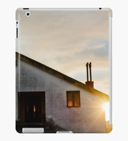 Quiet House at sunset iPad Case/Skin