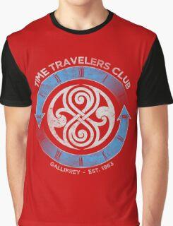 time traveler s club gallifrey Graphic T-Shirt