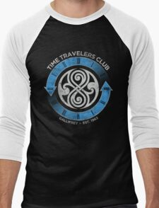time traveler s club gallifrey Men's Baseball ¾ T-Shirt