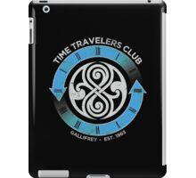 time traveler s club gallifrey iPad Case/Skin
