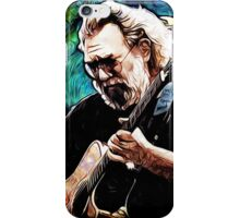 "Jerry Garcia- ""Birdsong"" Grateful Dead image iPhone Case/Skin"