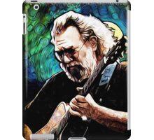 "Jerry Garcia- ""Birdsong"" Grateful Dead image iPad Case/Skin"