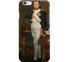Jacques-Louis David - The Emperor Napoleon 1812 . Napoleon, Fashion Portrait iPhone Case/Skin