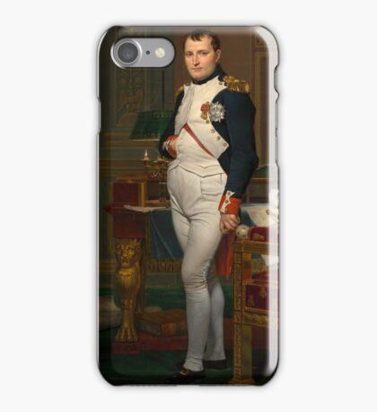 Jacques-Louis David - The Emperor Napoleon 1812 . Napoleon, Fashion Portrait iPhone Case/Skin