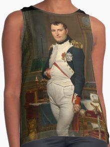 Jacques-Louis David - The Emperor Napoleon 1812 . Napoleon, Fashion Portrait Contrast Tank
