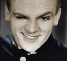 James Cagney Sticker