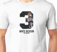 Post Malone White Iverson Unisex T-Shirt