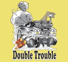 double trouble 2 One Piece - Short Sleeve