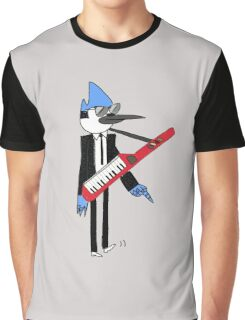 Mordecai The power Graphic T-Shirt