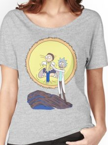 Morty to the Sun Women's Relaxed Fit T-Shirt