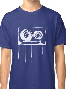 Splatter  Cassette (white) Classic T-Shirt