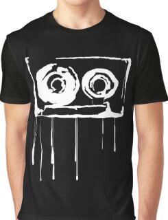 Splatter  Cassette (white) Graphic T-Shirt