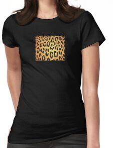 Cheetah Skin Womens Fitted T-Shirt