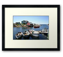 Peggy's Cove, Nova Scotia Framed Print