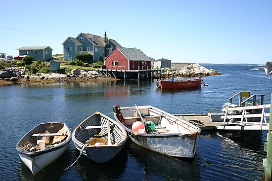 Peggy's Cove, Nova Scotia by Alyce Taylor